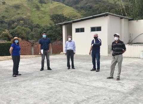 SE REACTIVA PROYECTO DE  CONSTRUCCIÓN DE CUBIERTA EN CANCHA MÚLTIPLE DE TARAPAL